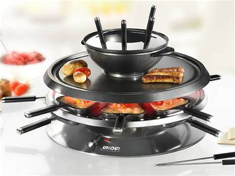 Raclette Grill Mit Fondue by Unold 4 In 1 Raclette Fondue