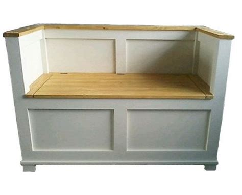monks bench with storage new handmade pine monks bench storage toy box by