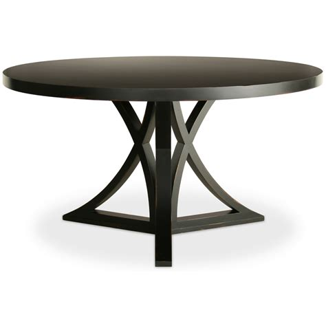 Dining Table: Dining Table Black Round