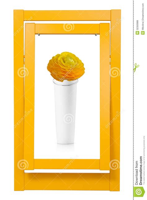 Picture Frame Vase by Colorful Frame And Vase Royalty Free Stock Photos Image