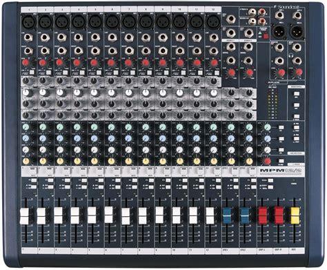 Mixee 24 Chanel Soundcraft Mpm244 soundcraft mixers