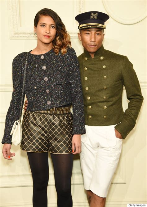 who is helen lasichanh pharrell williams and wife helen lasichanh stun on this