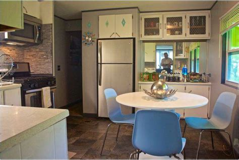 500 single wide goes retro with affordable mobile home