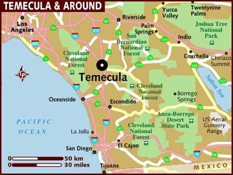 murrieta ca map map of temecula