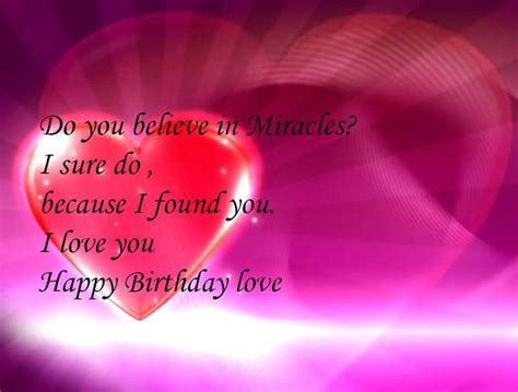 romantic birthday wishes for girlfriend and quotes for