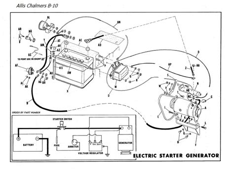allis chalmers 6 volt wiring diagram allis free engine