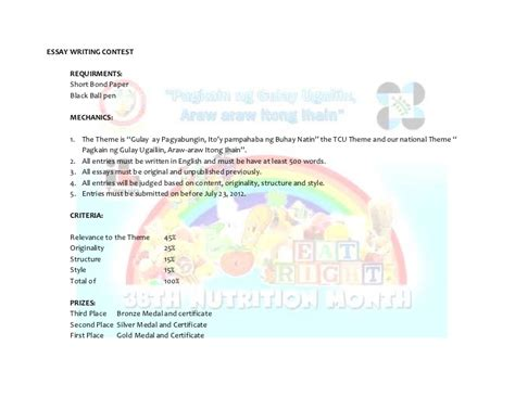 questions quiz bee nutrition month tcu nutrition month