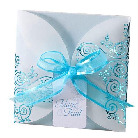 Hochzeitseinladung Blau by Hochzeitseinladung Quot Ninni Quot M 228 Rchenhafte Einladungskarte