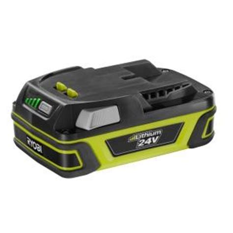 ryobi 24 volt slim pack accessory battery op243a the