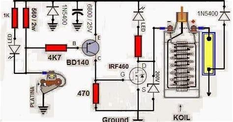 transistor horisontal yang kuat tci transistor ignition tci menggunakan irf840