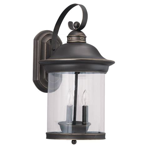 outdoor vintage lighting sea gull lighting hunnington 1 light outdoor weathered pewter wall mount fixture 88025 57 the
