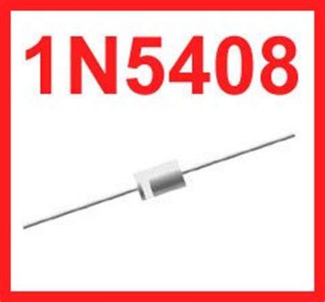 in 5408 diode 100 x 1n5408 in5408 3a 1000v rectifier diode de elektronik