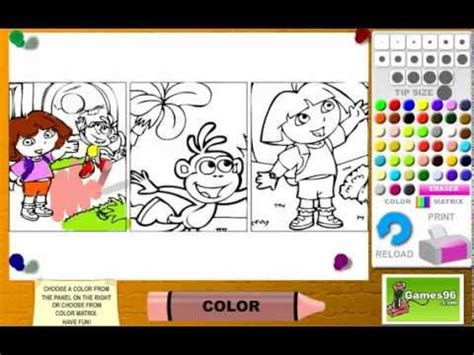 libro the search warrant dora juego colorear libro dora youtube