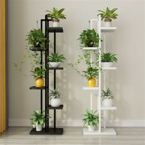 standing flower shelf living room balcony plant shelf