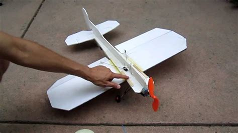 how to make a crash proof 3d foam rc plane
