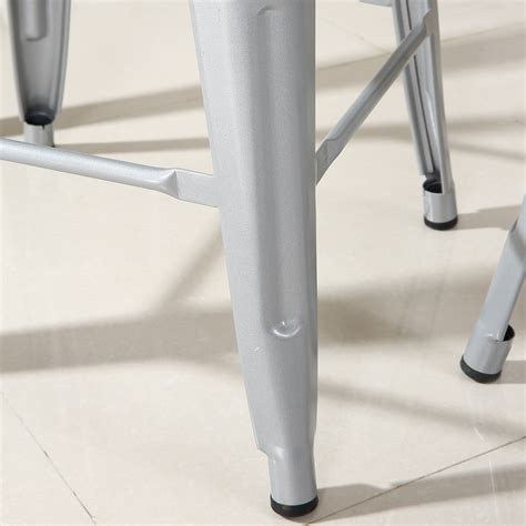 Flash Furniture Carlisle 30 In Metal Bar Stool by Set Of 2 Metal Bar Stool Counter Height Home 24 Quot 26 Quot 30