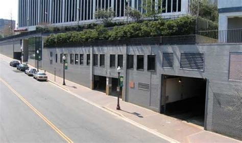 Rosslyn Parking Garage by Throat Garage Uncommon Places Arlington Arts