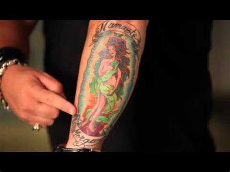 guy fieri tattoo you ve got fieri on his tattoos