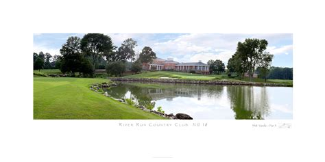 run country club river run country club no 18 golf pictures framed