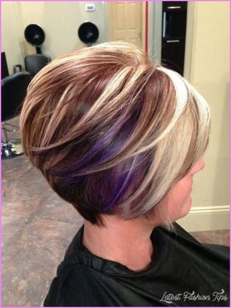 what cut layered bob and color is good to make hair look fuller short hairstyles and colors latestfashiontips com