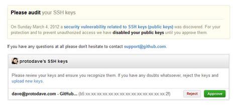 github tutorial on creating ssh keys github ssh public key fingerprint checking protodave