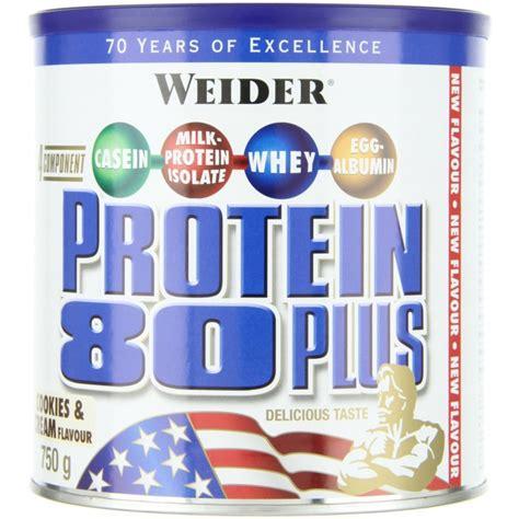 protein 80 plus protein 80 plus 750g mix de proteine 4fit