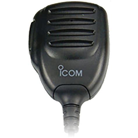 icom hm   microphone remote speaker microphones
