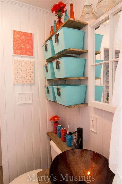 make your small bathroom look bigger install beadboard paneling