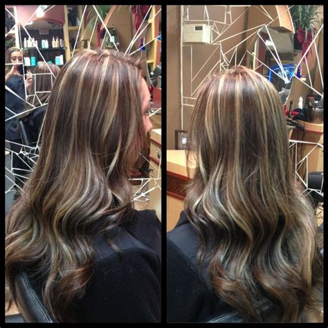 level 6 hair color level 6 hair color with maple highlights photo brown