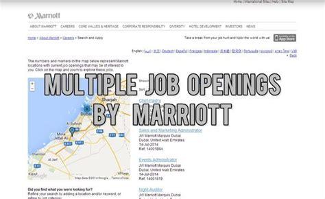 marriott uae job opportunities july 2016 dubai ofw