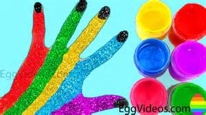 finger color learn colors for children paint finger family song
