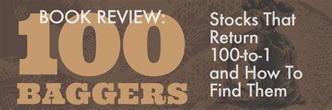 100 how do i find book review 100 baggers by chris mayer microcapclub