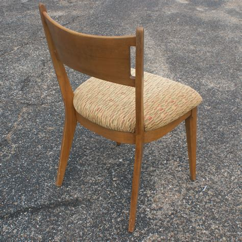 Heywood Wakefield Chairs by 4 Vintage Heywood Wakefield Side Dining Chairs M1981a