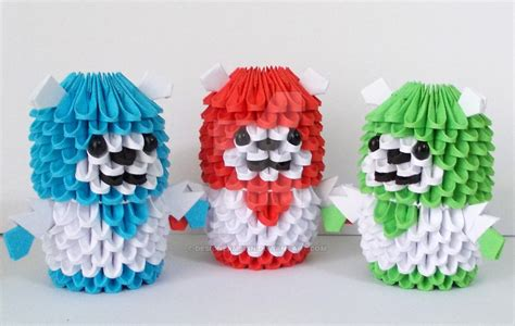3d origami teddy bear tutorial 3d origami bears by designermetin on deviantart