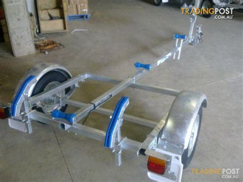 punt boat trailer seatrail tinny 12 for sale in revesby nsw seatrail tinny 12