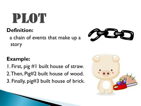 themes of a story definition elements of plot what s in a story ppt video online