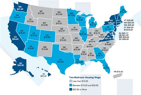 cheapest rent in usa 2016 a new study maps how much income you need to rent a 2
