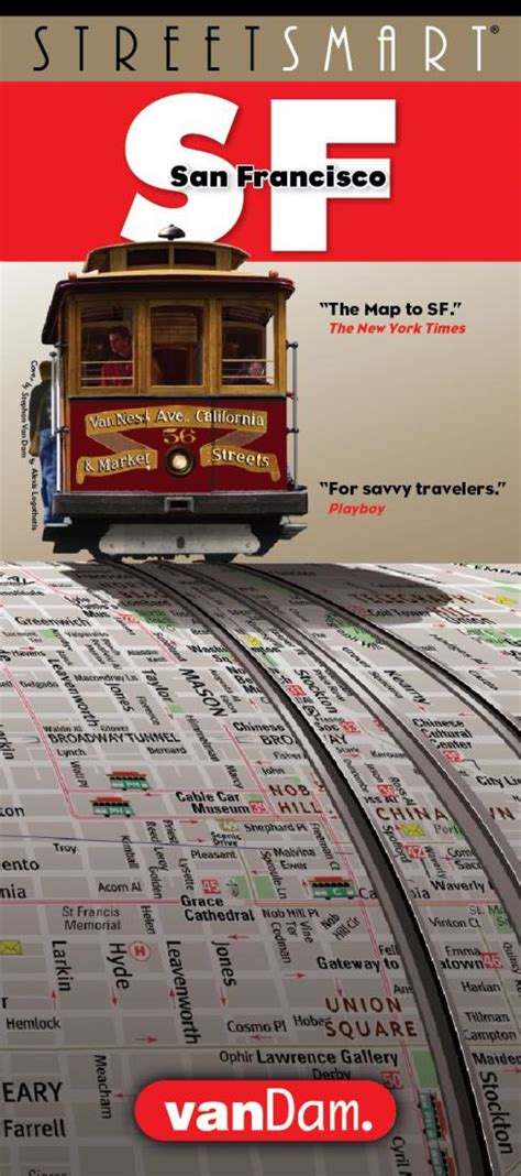 streetsmart sf san francisco map by vandam laminated city pocket map with all attractions museums hotels and bay area transit information bart muni and caltrain 2018 edition map books buy san francisco california streetsmart map by vandam