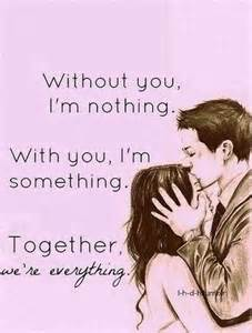 we are in love without you i m nothing with you i m something pictures