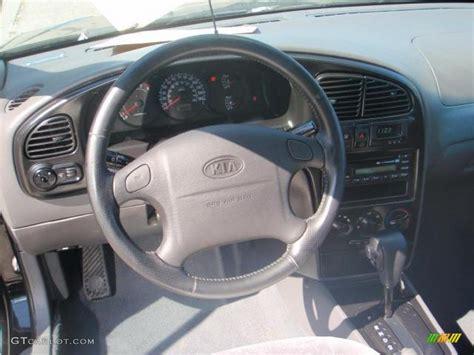 2003 Kia Spectra Interior 2003 Black Kia Spectra Gsx Hatchback 15037464 Photo 6