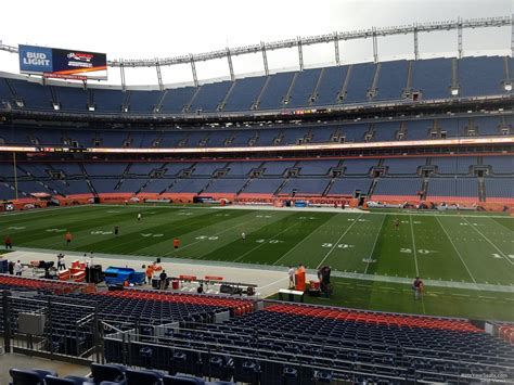sports authority field sections sports authority field section 103 rateyourseats com