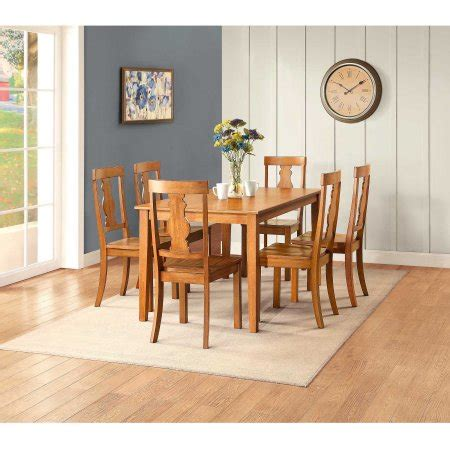 Better Homes And Gardens Dining Room Furniture Better Homes And Gardens Bankston Dining Table Honey Best Dining Room Tables