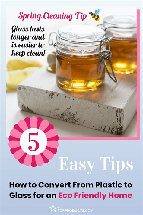 spring cleaning tip convert  glass storage containers