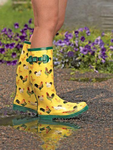 chicken boots gardener s wellies wish list chicken