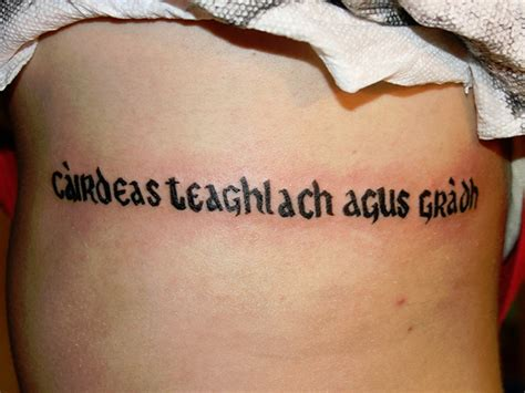 tattoo quotes celtic 100 s of gaelic tattoo design ideas pictures gallery