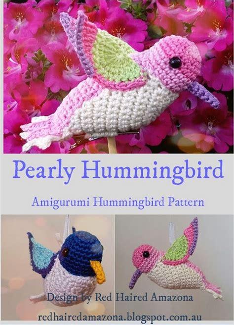 amigurumi hummingbird pattern 17 best ideas about hummingbird crochet on pinterest