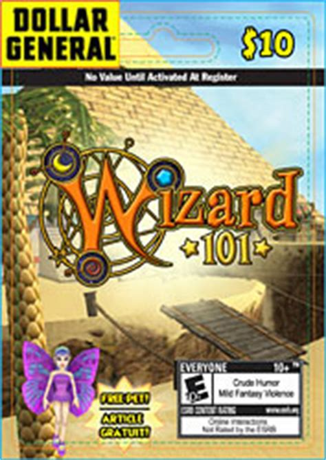 Wizard101 10 Gift Cards - item dollar general 10 usa gift card wizard101 wiki