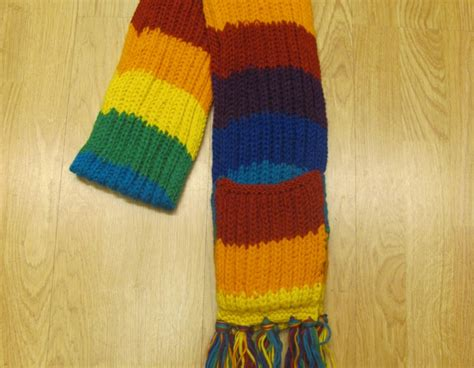 knit tibetan wool scarf with built in mittens