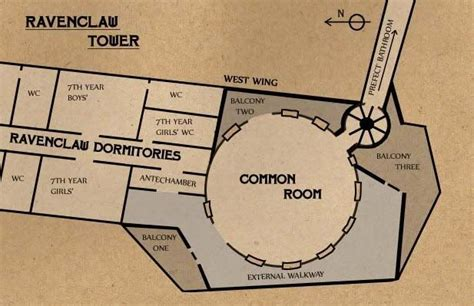 hogwarts floor plan ravenclaw tower floor plan wise old ravenclaw