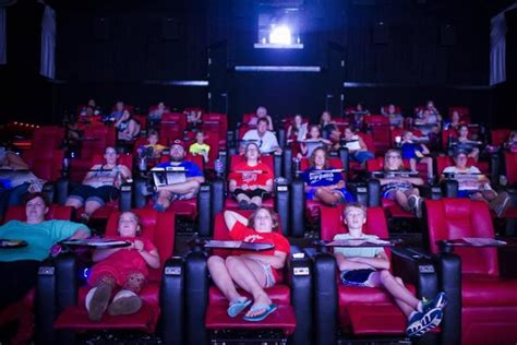 movie theatre with recliner seats more reclining seats popping up in local movie theaters